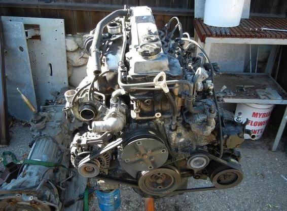 Двигатель 4ь40 Mitsubishi Pajero